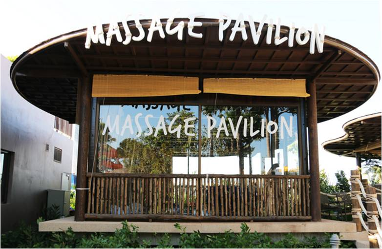 massage pavilion